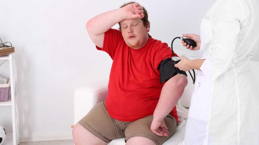 الوزن الزائد قد يتسبب بأمراض