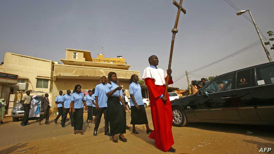 مسيحيون سودانيون يحتفلون باعتماد رئيس أساقفة كانتربري لكنيستهم ككنيسة وطنية مستقلة