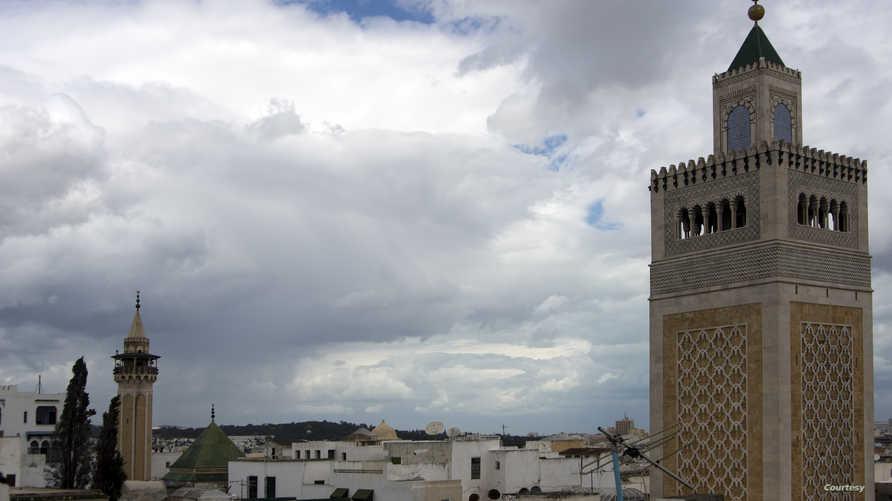 مشهد من العاصمة تونس