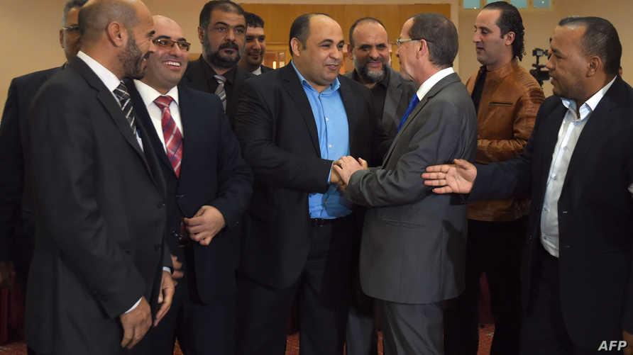 جانب من مشاورات سابقة بين الأطراف الليبية برعاية الأمم المتحدة