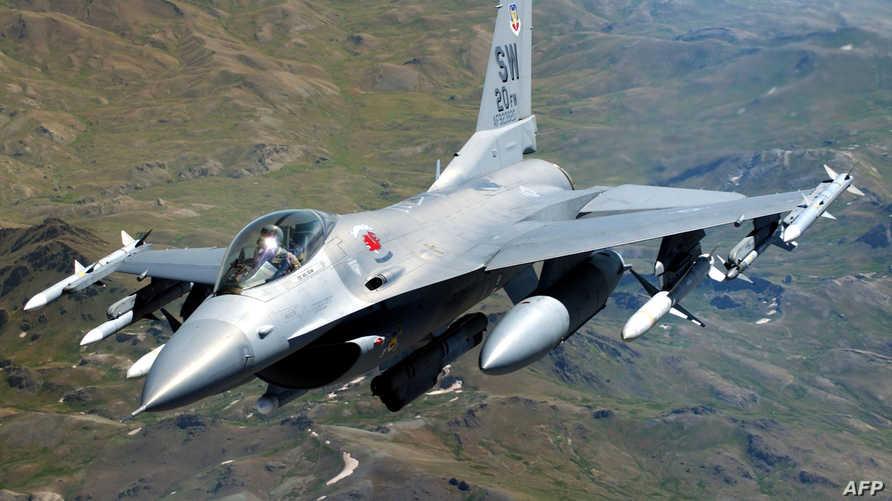 طائرة أف 16 الأميركية -أرشيف