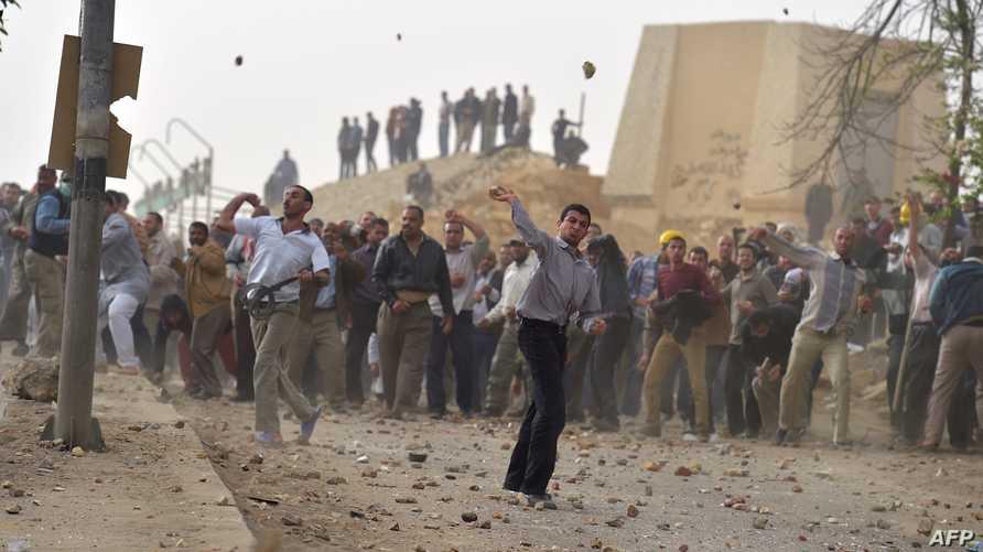 مواجهات بين مؤيديين ومعارضين لجماعة الإخوان المسلمين في مصر