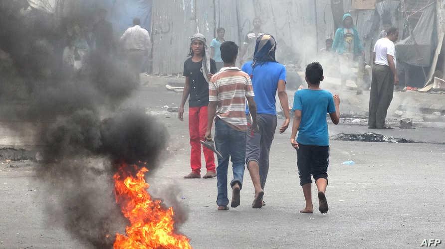 احتجاجات في شوارع عدن ضد مقتل ناشط انفصالي