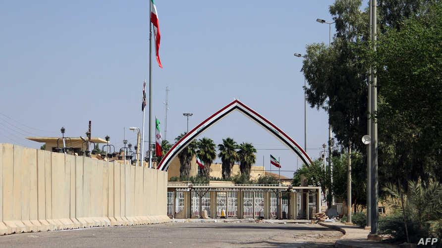 معبر خسروي الحدودي مع العراق مغلق بسبب الأوضاع في العراق والهتافات المناوئة ضد النظام الإيراني