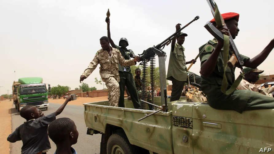 عناصر من الجيش السوداني