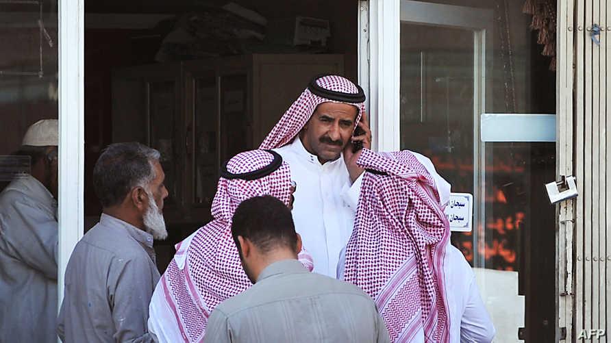 موظفون سعوديون-أرشيف