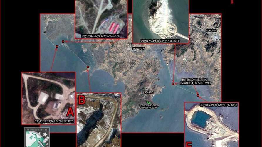 جزر اصطناعية قرب سوهي