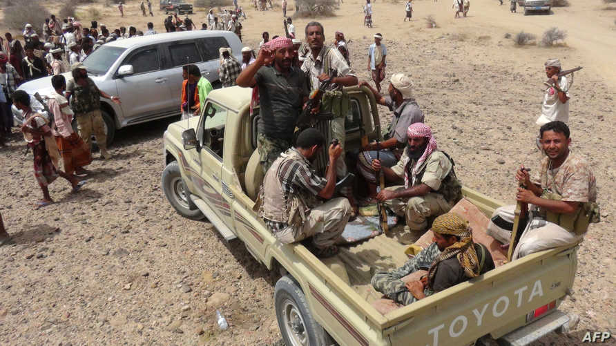 قوات موالية للرئيس اليمني عبد ربه منصور هادي