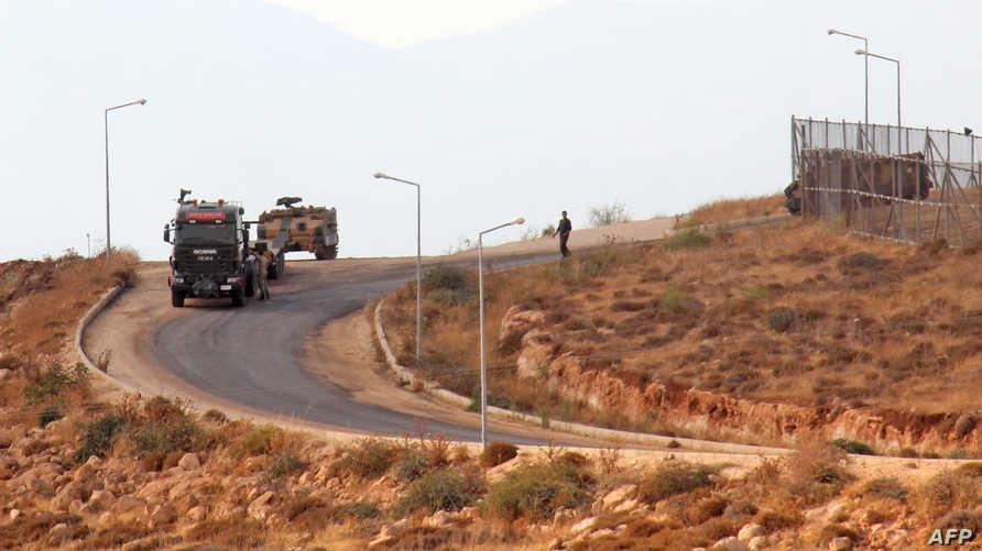 آليات عسكرية تركية في إدلب