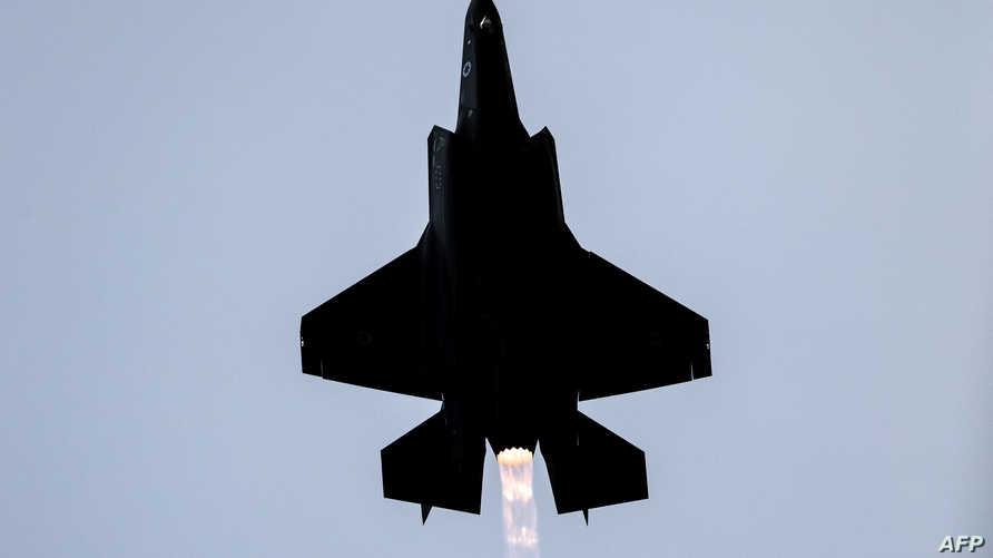 """استلمت إسرائيل مؤخرا طائرات """"الشبح"""" المقاتلة من الولايات المتحدة من نوع """"أف ـ 35"""""""