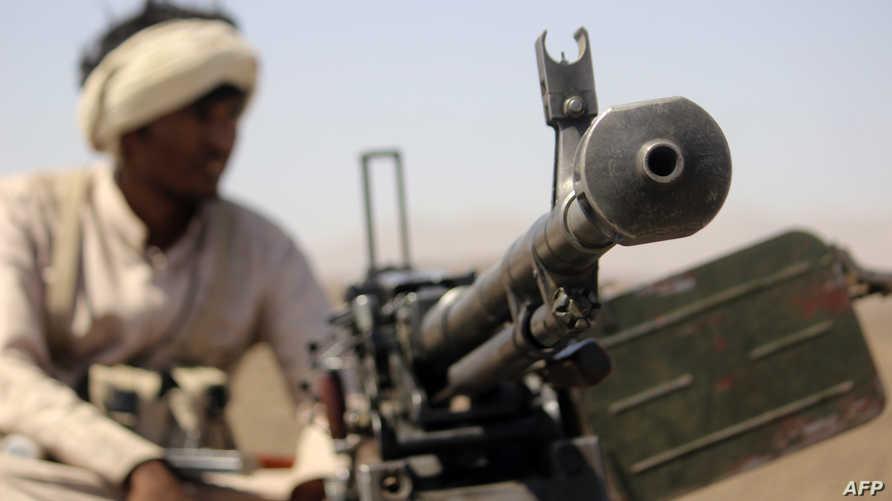 مسلح من أنصار عبد ربه منصور هادي
