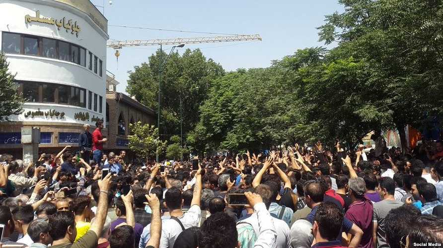 مظاهرات في إيران - صورة أرشيفية