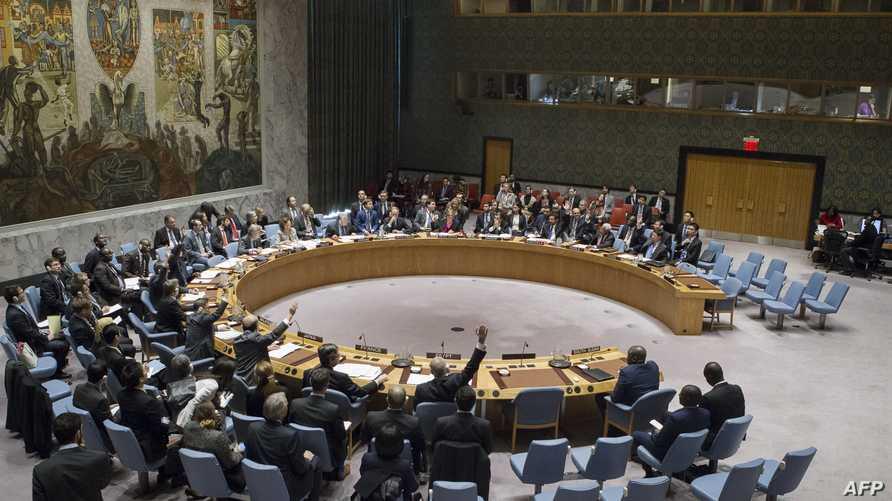التصويت في مجلس الأمن الدولي على قرار وقف الاستيطان