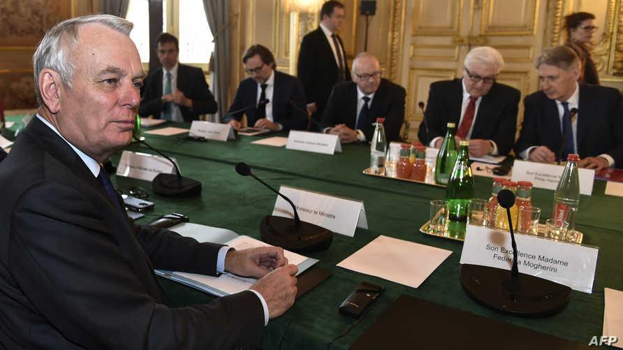 اجتماع سابق حول سورية في باريس