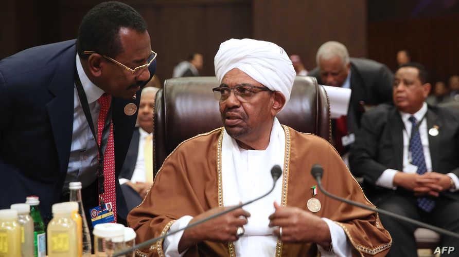 رد الحكومة السودانية جاء عبر البشير الذي أمر بتجميد كافة المفاوضات مع أميركا حتى 12 تشرين الأول/أكتوبر - أرشيف