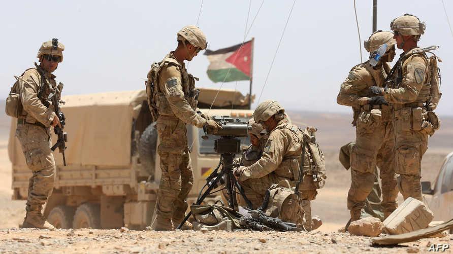 قوة تابعة للجيش الأردني- أرشيف