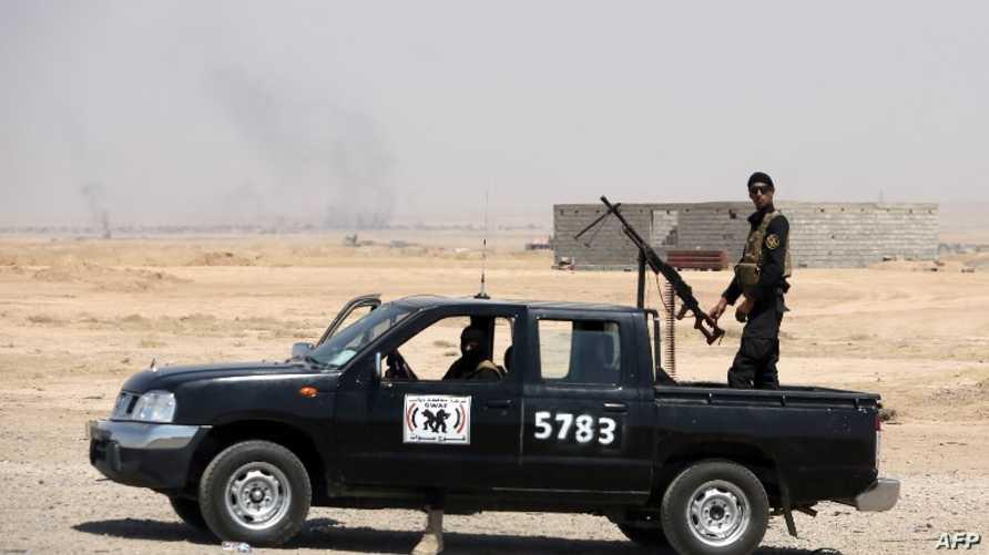 قوة أمنية لتأمين طريق بغداد- كركوك/وكالة الصحافة الفرنسية