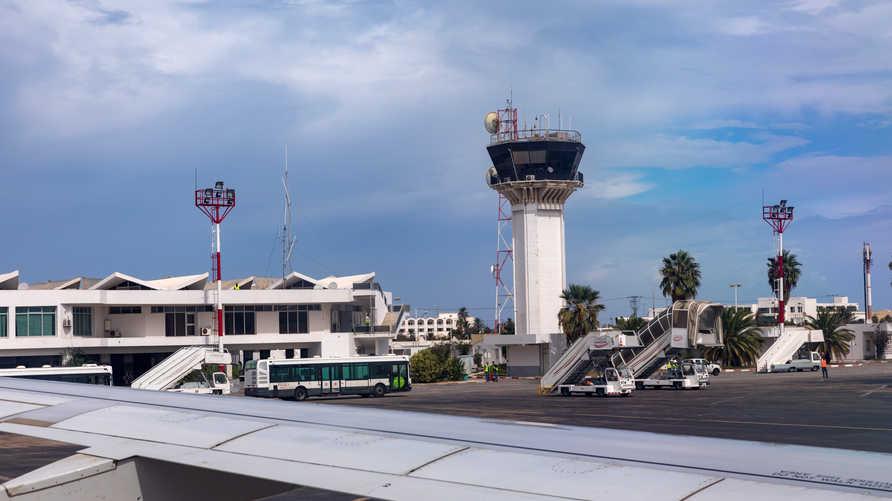 جانب من مطار تونس الدولي