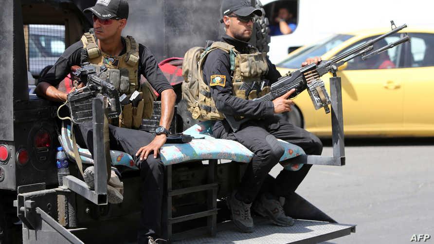 قوات الأمن العراقية تعزز مراقبة شوارع العاصمة بغداد