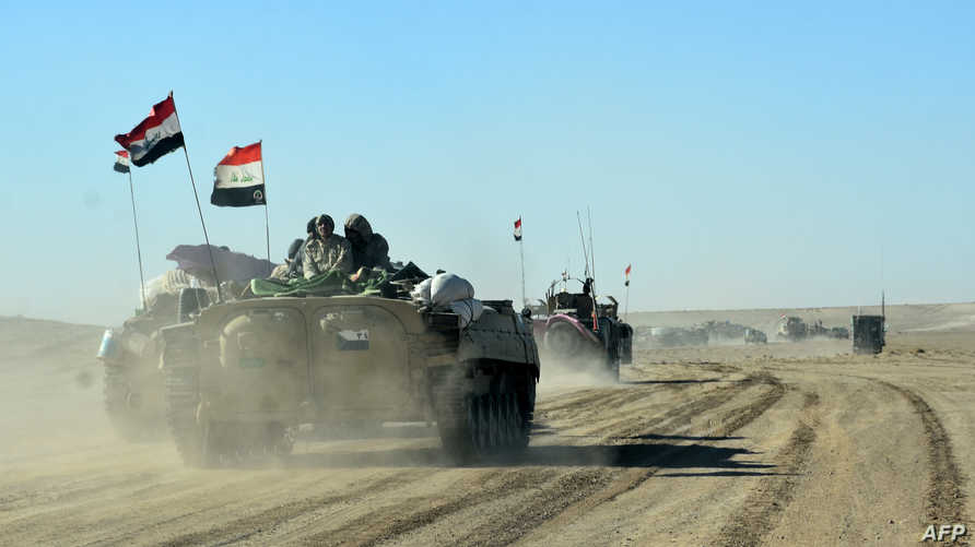 قوات عراقية على الحدود مع سورية