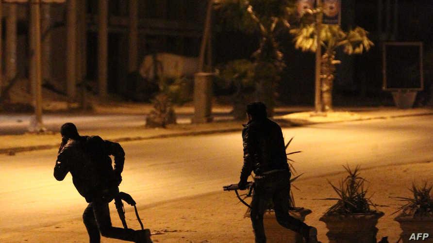 مواجهات في ليبيا. أرشيف