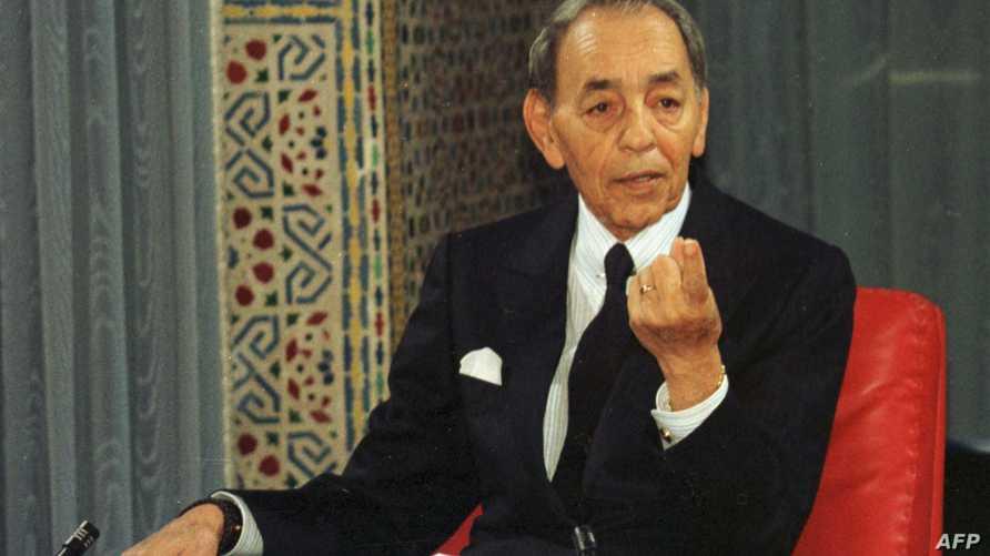 الملك المغربي الراحل الحسن الثاني