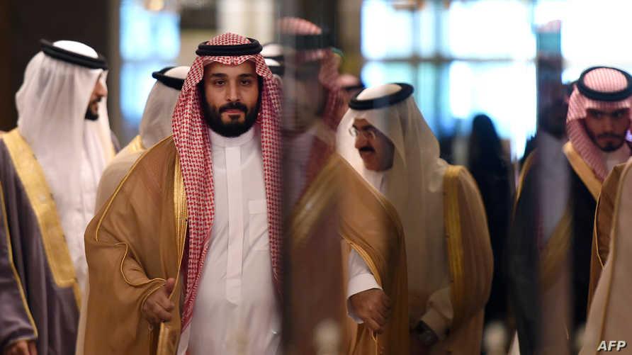 ولي ولي العهد السعودي محمد بن سلمان في الرياض الخميس