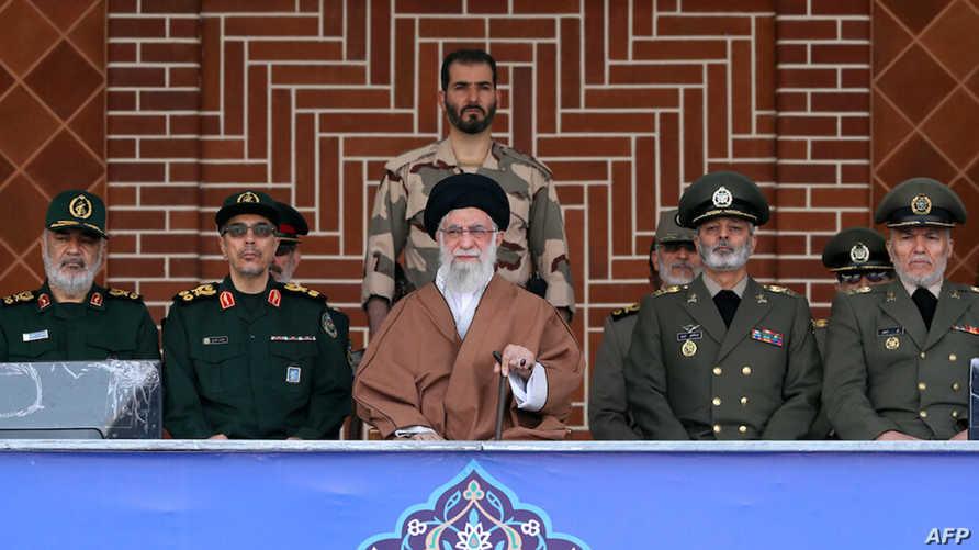 مرشد الثورة الإيرانية علي خامنئي في حفل تخرج - 30 أكتوبر 2019