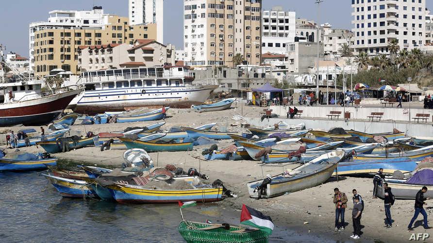 جانب من مدينة غزة