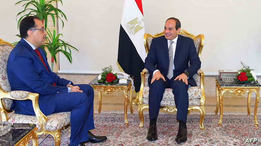 رئيس الوزراء المصري مصطفى مدبولي