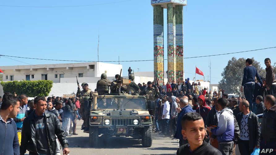 جنود تونسيون في مدينة بن قردان- أرشيف.