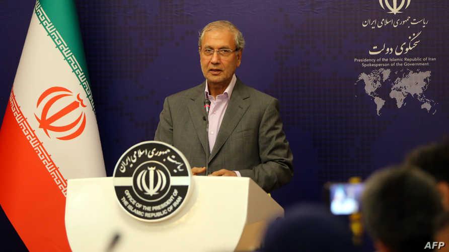 المتحدث باسم الحكومة الإيرانية علي الربيعي