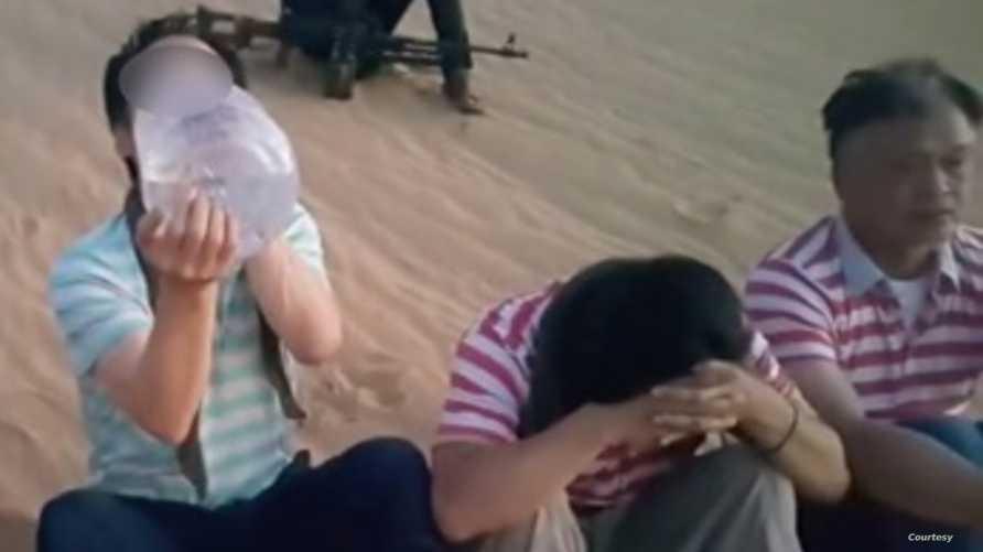 المختطفون نقلا عن وكالة يونهاب