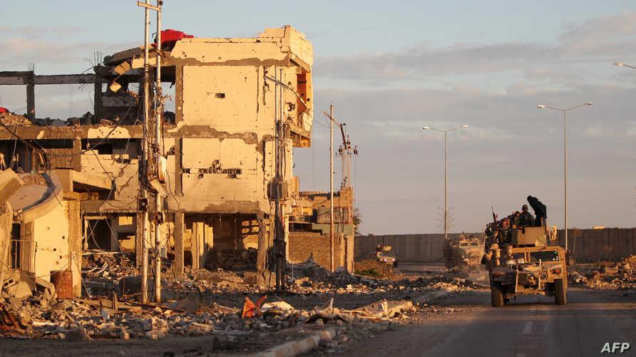 قوات الجيش العراقي تتجه نحو منطقة السجاربة في شرق الرمادي