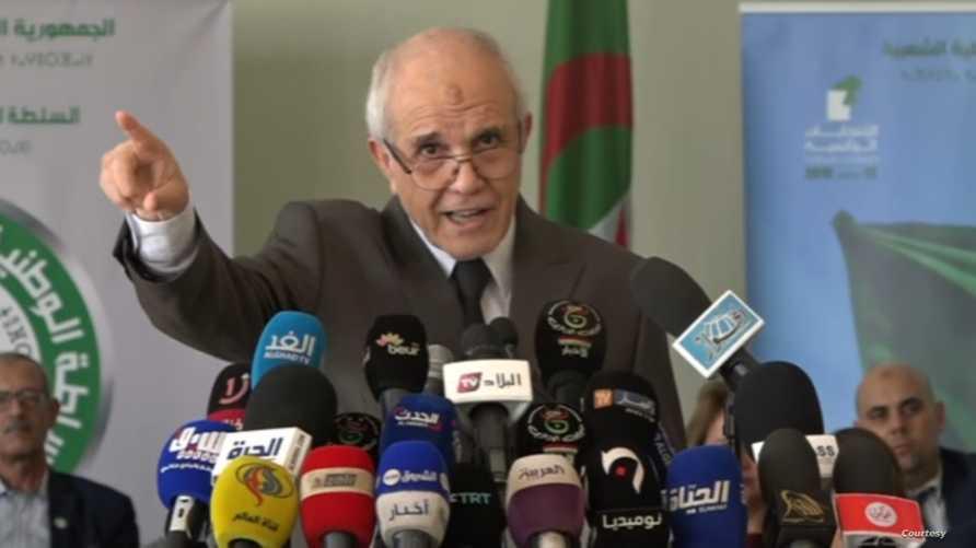 محمد شرفي رئيس سلطة انتخابات الرئاسة الجزائرية