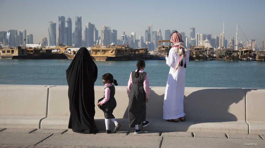 عائلة قطرية
