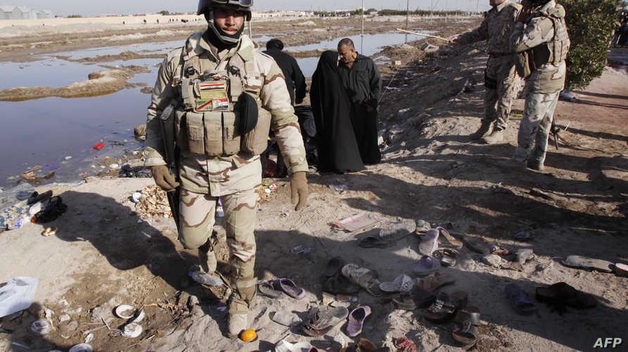 أفراد من الجيش العراقي