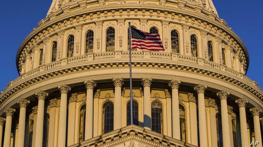 جانب من مبنى الكونغرس