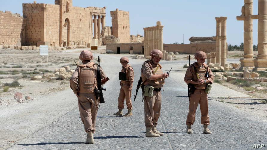 قوات روسية في سورية
