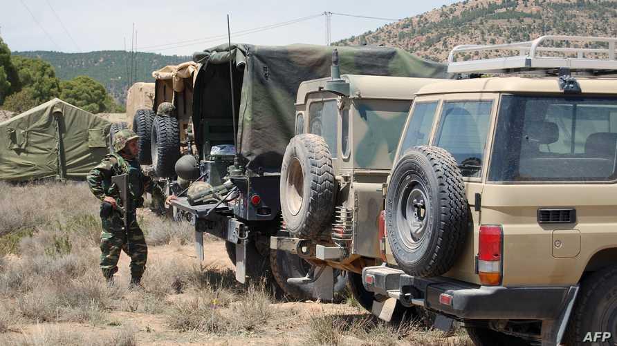 آليات عسكرية تونسية