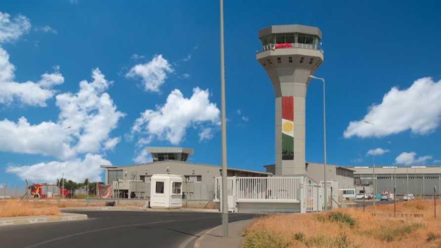 مطار أربيل الدولي في صورة من موقعه الإلكتروني