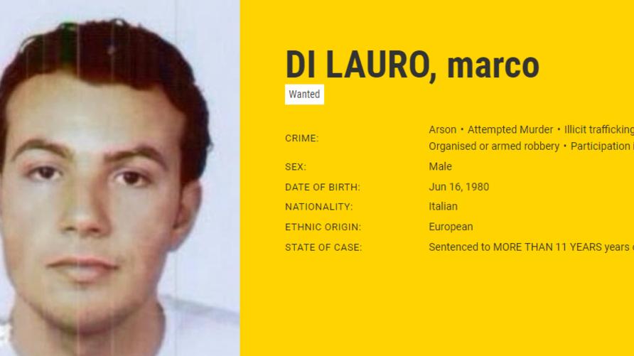 ماركو دي لاورو (المصدر: يوروبول)