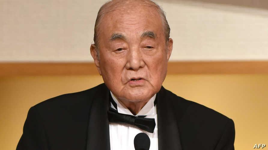 رئيس الوزراء الياباني الأسبق ياسوهيرو ناكاسوني