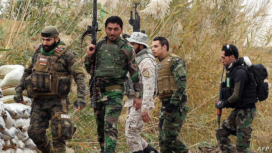 القوات العراقية تستعد لتحرير محافظة صلاح الدين من داعش
