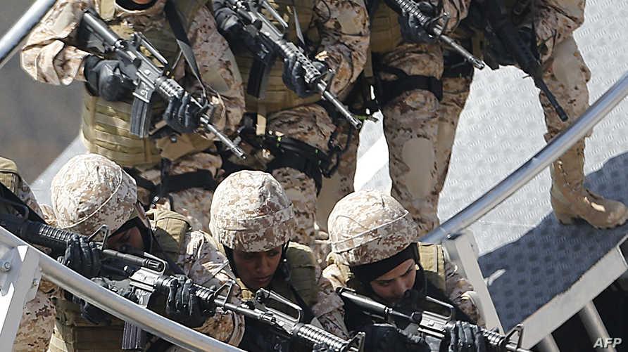 عناصر من الجيش الإماراتي -أرشيف