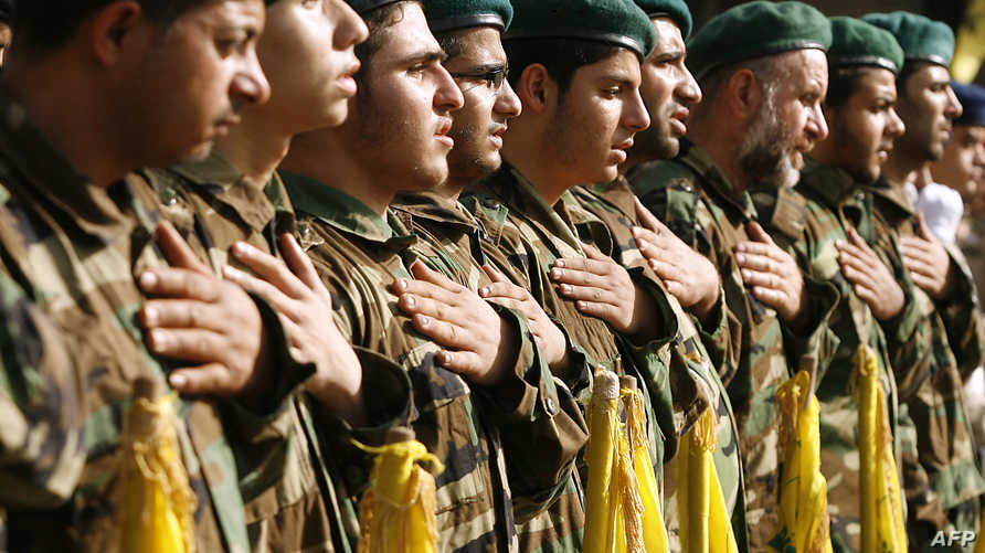 عناصر من مقاتلي حزب الله -أرشيف