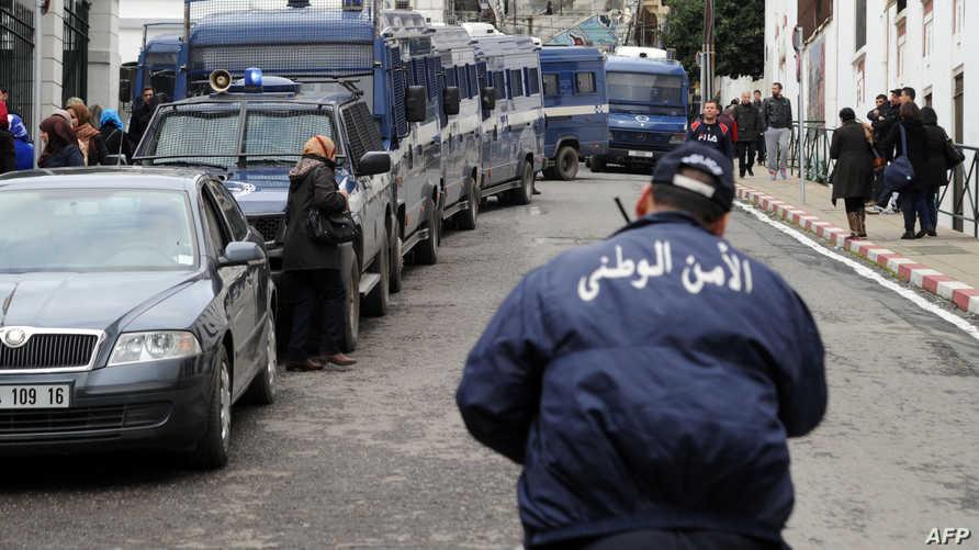 قوات الأمن الجزائري