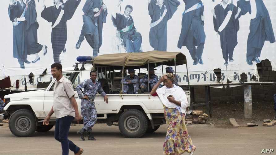 أحد شوارع أديس أبابا- أرشيف