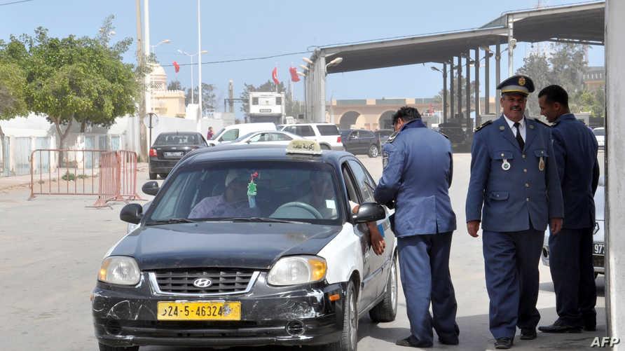 معبر راس جدير الحدودي مع ليبيا