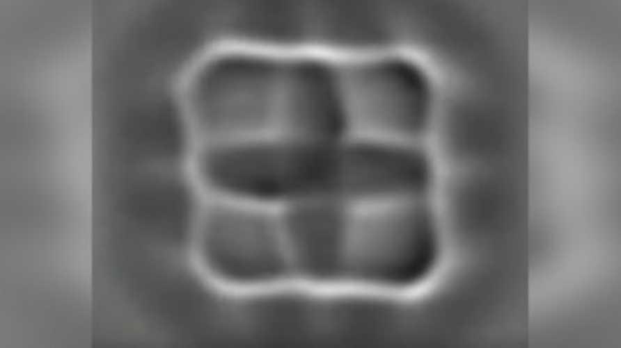 صورة للجزيئات أثناء تغير شحناتها